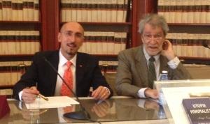Filippo Pergola presiede, alla Camera dei Deputati, il IX convegno APRE
